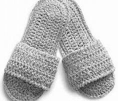 #crochet pattern - spa #slippers