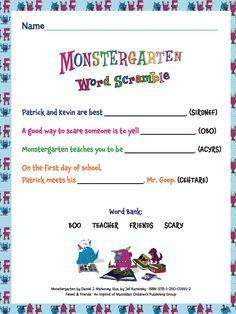 Download the Monstergarten activity kit now!