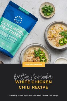 It's officially soup season! To celebrate, we're whipping up a batch of this super-easy, super-nourishing Slow-Cooker White Chicken Chili boosted with Collagen Peptides. Grab the recipe and try it with us!