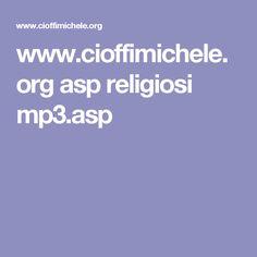 www.cioffimichele.org asp religiosi mp3.asp
