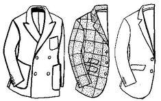 difference between blazer, sport coat, suit jacket