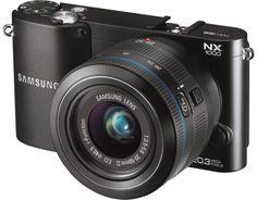 Samsung NX1000 Systemkamera-schwarz