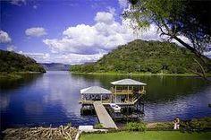 Lago de Coatepeque, El Salvador, Central America