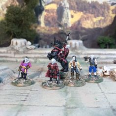 Mini Update: A Cabal of Vampires from Splintered Light Vampires, Science Fiction, Gaming, Miniatures, Hero, Fantasy, Image, Sci Fi, Videogames
