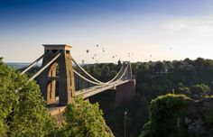 Named one fo the best cities to live in the UK find out 16 Reasons why you have to visit Bristol! From bikes and bridges to Brunel & Banksy read more here. Bristol Balloon Fiesta, Visit Bristol, Most Visited, Best Cities, Amazing Destinations, Travel Destinations, Golden Gate Bridge, Britain, Stuff To Do