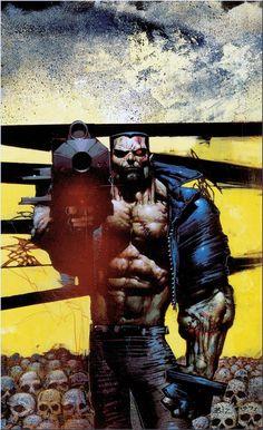 Simon Bisley  Terminator. Fantasy art #Color #Illustration #Mistery #Design @deFharo