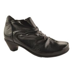 Womens Naot Advance Booties Black Leather - ONLY $220.00