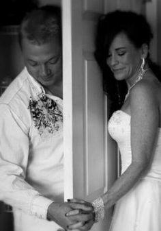 Pre wedding prayer together.