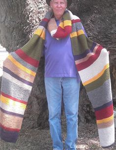 Dr Who Inspired  14' Scarf  Custom Order by SciFiKnits on Etsy, $95.00
