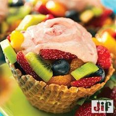 #Fruit and #Yogurt Treats from Jif®