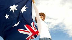 Woman With Akubra Hat And Australian Flag Stock Image - Image of mature, clouds: 28004487 Work In Australia, Australia Tours, Australia Travel, Akubra Hats, Australian Slang, Brisbane Kids, Immigration Canada, Holidays Around The World, Beach Images