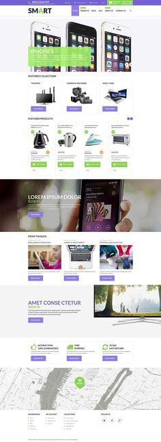 14+ SHOCKING! Electronics Store Shopify Themes! No. 3 WILL Make Your EYES EXPLODE! - Smart Store