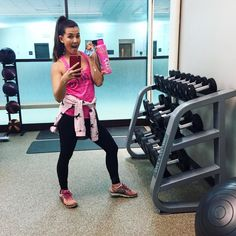 Our very own @kimim is getting her workout on while she's traveling for the holidays! She's rocking her pink #BestLifeEver tank  & @808hidr8 bottle! Oh yeah and her badass #unicorn sweater!  How are you enjoying your BLE gear? Post your photos & tag us to be featured on our IG @ entered to win a Best Life Ever Weekly Planner! #bestlifeever #alldayerryday #badassonthego #workout #fitness #exercise #instadaily #instagood #instafamous #pink #loveit