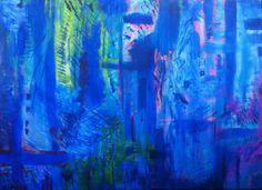 Embellish emotion #art #artist #blue #abstract #painting #artwork