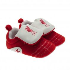 Liverpool FC baby shoes