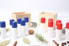 Exploración sensorial-frascos de olores Montessori-Hop'Toys