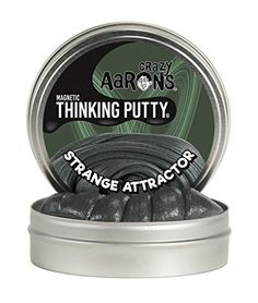 977b6deb6b8 Evann Crazy Aaron s Thinking Putty, 3.2 Ounce, Super Magnetic Strange  Attractor Stocking Stuffers For