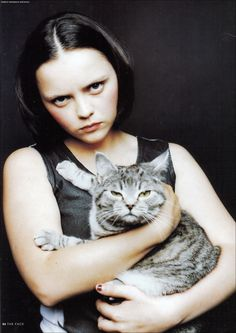 Ricci. check out the expression on that cat!
