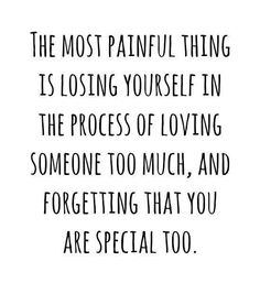 You are special too!