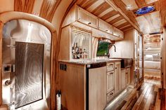 The leader in custom, luxury Airstream and refined trailers Trailer Decor, Trailer Interior, Camper Interior, Airstream Campers, Camper Trailers, Custom Trailers, Airstream Renovation, Luxury Rv, Vintage Travel Trailers