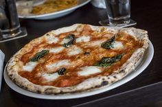A hand-built Stefano Ferrara pizza oven is Bavaro's shining star
