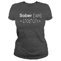 Kind of sober;Someone who likes the idea of being sober but equally loves wine. Drinking Shirts, Lady Grey, Sober, Wine, Projects, Mens Tops, Gifts, Log Projects, Blue Prints