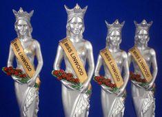 Pageant Trophies Set of Four S2E
