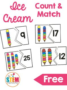 Ice Cream Counting Puzzles - The Stem Laboratory