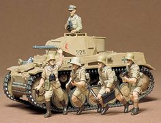 Tamiya Panzer Kampfwagen II I was on a DAK kick for a while. Everything was Africa Korps!
