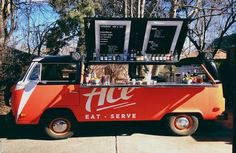 Mobile Drink Service!  outdoor weddings Penny, the ACE Bar Bus Is Rolling onto Denver's Streets