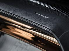 Peugeot Fractal Concept Interior Dashboard