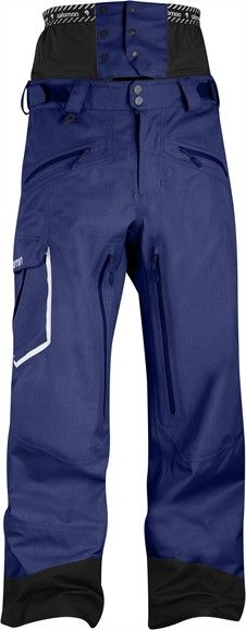 Salomon Sideways II Pant M - Relaxed fit technical freeskiing pant with slightly structured face fabric. Lined, fully featured technical pant for aggressive skiers.