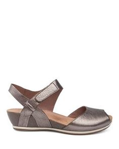 3c13966fd94 Show details for Vera Pewter Nappa Sandals 2018