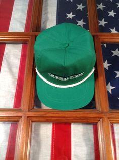 Vintage Churchill Downs Kentucky Derby Horse Racing Race Track Hat Cap Class Usa #classic