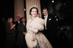 """I binge-watched the Golden Globe-winning Netflix series """"The Crown"""" over the weekend — complete with Claire Foy's perfectly plummy-accented Queen Elizabeth II and Matt Smith's perhaps too-endearing… Netflix Series The Crown, Crown Netflix, The Crown Series, Jamie Bell, Jessica Jones, Buffy, Best Tv Shows, Movies And Tv Shows, Nicolas Le Floch"""