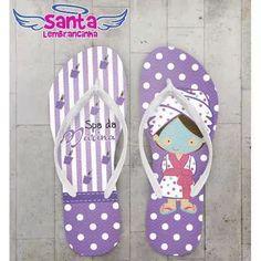 Chinelo Infantil Spa, Festa Do Pijama Kit Com 20 Pares - R$ 169,80