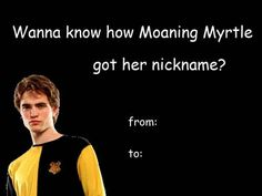 For the Cedric girls: | The 18 Best Valentine's Day Cards For The Harry Potter Addict In Your Life