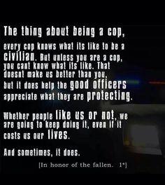 Police #thinblueline