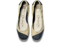 Burlap Alessandra Ballet Flats   TOMS.com   size 9.5 or 10