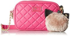 LUV BETSEY by Betsey Johnson Quilted Crossbody Bag, Pink, One Size LUV BETSEY by Betsey Johnson http://www.amazon.com/dp/B011Y0YASC/ref=cm_sw_r_pi_dp_ozc6wb1EPTZYP