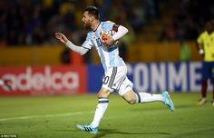 Officially...Archangel641's Blog: Lionel Messi sends Argentina to World Cup 2018 wit...