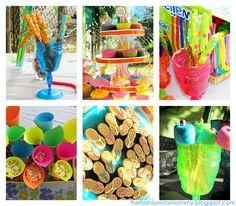 "Photo 1 of 10: Hawaiian Luau/Tiki Party / Summer ""Luau Graduation Party"" | Catch My Party"