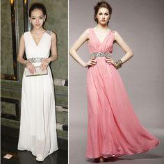 2013 Wholesale,long evening dress,dresses,long married bridemaid dress,weddings, high waist princess full dresses $24.88