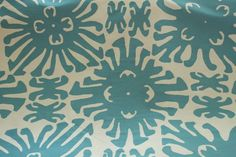 China Seas Sigourney in turquoise, $65 a yd
