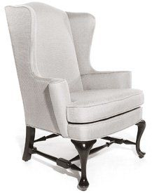 Bright Chair Company - Queen Anne Wing Chair