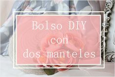 Bolso DIY con dos manteles individuales / diy bag with two placemats