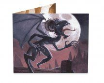 Call of the Jersey Devil Dinomighty wallet by Aurelio Voltaire, only 7 backers to go! The Jersey Devil, Bats, Steampunk, Wallet, Superhero, Creative, Artist, Fictional Characters, Steam Punk
