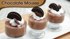 How To Make Chocolate Mousse - Style Chef - YouTube