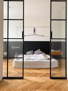 #drzwiloftowe #drzwiindustrialne #drzwiloftoweprzesuwne #drzwiloftoweLumoSteel #LumoSteel #kerno #pracowniazpodlasia #polskapracownia #drzwiloftoweflutes @szkłoflutes @kernopracowniastolarska Divider, Room, Furniture, Home Decor, Bedroom, Decoration Home, Room Decor, Rooms, Home Furnishings