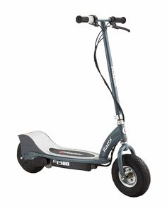 Razor Electric Motorized Ride-On Scooter Grey Razor Electric Scooter, Electric Scooter For Kids, Kids Scooter, Electric Skateboard, Electric Power, Scooter Scooter, Scooter Price, Chain Drive, Motor Scooters